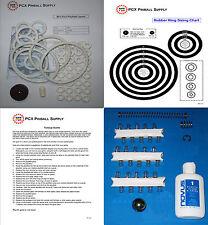 1969 Gottlieb Mini Pool Pinball Machine Tune-up Kit - Includes Rubber Ring Kit