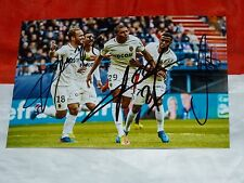 Photo 10x15 signé signe MBAPPE LEMAR GERMAIN asm AS MONACO FC foot ultras