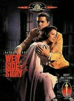 """""""WEST SIDE STORY"""" NATALIE WOOD & RICHARD BEYMER (DVD) Free Shipping in Canada"""