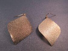 Stardust Brass Gold Tone Hook Earring