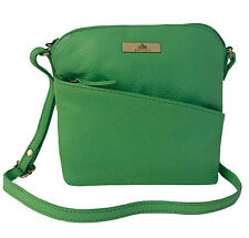60% OFF ROWALLAN LIME GREEN LEATHER SHOULDER BAG