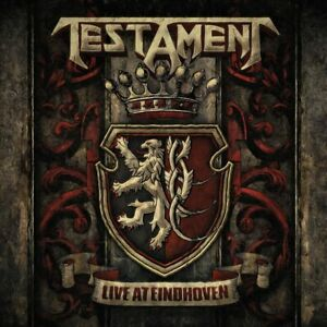 TESTAMENT Live At Eindhoven 2018 Limited Edition 10-track CD digipak NEW/SEALED