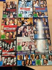 Grey's Anatomy: Die jungen Ärzte, 1-10 DVD , Staffeln 1 bis 10. gebraucht gut