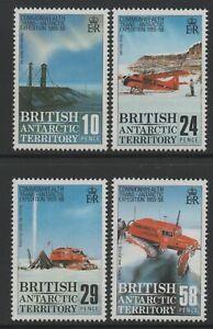 British Antarctic Territory 1988 Trans-Antarctic Exp set of 4 Mint Unhinged