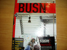"""BUSN student edition 8, """"INTRODUCTION TO BUSINESS TEXTBOOK- KELLY/WILLIAMS, NEW"""