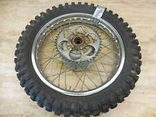 1972 Yamaha DT250 DT 250 Enduro Y671' rear wheel rim 18in