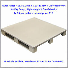 Paper Pallet / Cardboard / 4-Way Entry Lightweight / Eco-Friendly