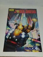 Judge Dredd #1 Comic Block Exclusive Variant Cover IDW Sealed
