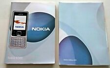 Genuine Nokia 6300 Printed User Guide Manual English Language Version