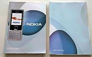 original nokia 6300 printed benutzerhandbuch handbuch englischsprachige version