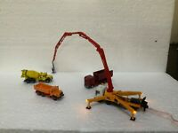 Suitable Marklin spur z scale/gauge Construction Site Vehicles with LED'S.