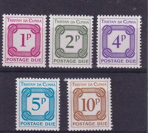 TRISTAN DA CUNHA Postage Due set MUH (0786)