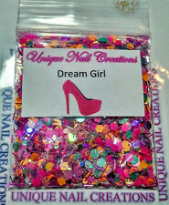 Limited Edition Glitter Mix~DREAM GIRL* Comes With Alloy~ Nail Art