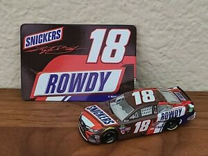 2018 #18 Kyle Busch Snickers 1/64 NASCAR Authentics Loose Wave 3