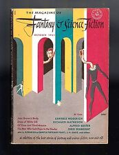 MAGAZINE OF FANTASY & SCIENCE FICTION October 1951 (Woolrich, Wakefield, Bester)