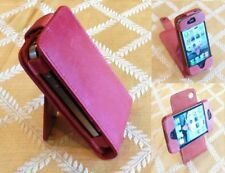 iPhone 4 4S Wallet Phone Case | Leather Card Holder Holster Swivel Stand