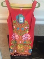 NWT Lilly Pulitzer Jacqueline Fiesta Dress Sz 2