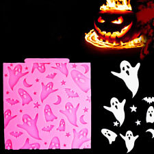 Halloween Party Ghosts-Bats-Moon-Star Silicone Mold Fondant Cake Decoration Tool