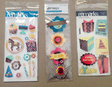 Unbranded Occasion, Party Cardmaking & Scrapbooking Stickers