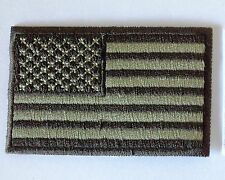 embroidered iron on sew on flag America USA applique patches for clothes jackets