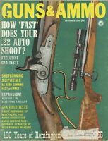 Guns & Ammo December 1965 How 'Fast' Does Your .22 Auto Shoot
