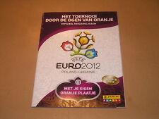 ALBUM FIGURINE STICKERS PANINI EURO 2012 VUOTO/EMPTY/LEER VERSIONE OLANDESE- MAX