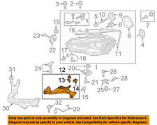 AUDI OEM 13-17 A5 Quattro Headlamp-Front Lamps-Bracket Left 8T0941453D