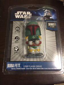 Star Wars Boba Fett  Series 1 4GB USB Flash Drive. Free UK Delivery