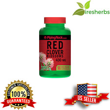 RED CLOVER BLOSSOMS 430MG FEMALE FERTILITY MENOPAUSE SYMPTOM SUPPLEMENT  90 CAP