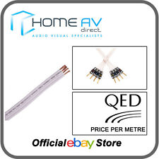 QED Performance Original BI-WIRE Speaker Cable White - Price Per Metre - QBO/50