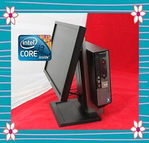 "DELL ALL IN ONE CORE I3 - 2120 3.3GHZ 4GB 250GB DVDRW WIFI WIN7 PRO AVIR 19"" LCD"