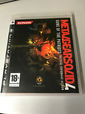 SONY PLAYSTATION 3 PS3 METAL GEAR SOLID 4 GUNS OF THE PATRIOTS PAL ITALIANO ☆