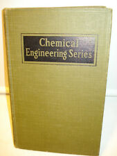 1942 Chemical Engineering Plant Design By Frank Vilbrandt -2nd Edition Hardcover