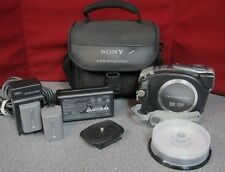 Sony Handycam DCR-DVD403 NTSC Mini DVD Camcorder -Some Accessories --8210