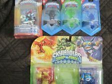 Skylanders Lava barf eruptor, super gulp,fright rider, 3 trap-kaos, life, water