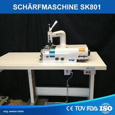 NEUE Schärfmaschine Lederschärfmaschine mit Power  AC  Motor- aufgebaut Set