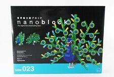 PreOrder Nano-block Animal Dx peacock Nbm-023