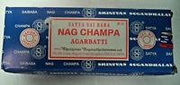 Genuine Satya Sai Baba Nag Champa Agarbatti 250 GM Nag Champa Incense Sticks
