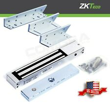 Zkteco Magnetic Lock Indoor Kit With L And Z Bracket For Access Control To Door