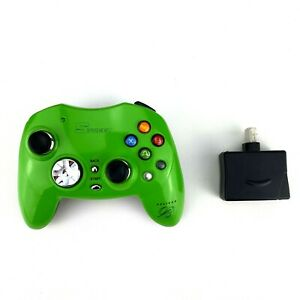 Pelican Street Blade Xbox Wireless Controller Green 2.4 PL-2047 With Dongle