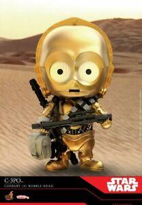 Hot Toys COSB690 Cosbaby Star Wars C-3PO Bobble Head Mini Figure Toys