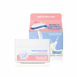 [MAKEheal] Peelosoft Tone Up Milk Pads - 1pack (30pcs) / Free Gift