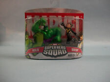 Marvel Superhero Squad 2 Pack HULK & WASP Action Figures