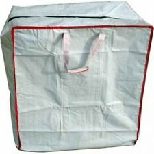 Large Zip Carry Storage Moving Bags Heavy Duty Strong Bags (Pack of 3)