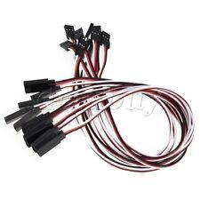 10x 30CM 3Pin Male To Female Remote Control Servo Extension Lead Cord Wire Cable