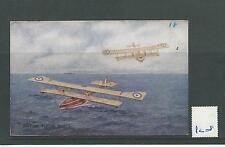 POSTCARD -PC08- WW1 - BRITISH FLYING BOATS