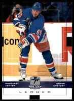 1999-00 Upper Deck Wayne Gretzky Hockey Leader Wayne Gretzky #99