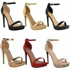Womens Ladies Platform High Heel Stiletto Sandals Sexy Party Prom Cheap Sale