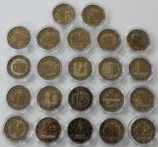 22 x 2 Euro Gedenkmünze Luxemburg 2004-2019, Sammlung, ohne Gemeinschaftsprägung