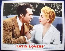 LATIN LOVERS MOVIE POSTER Lana Turner/Ricardo Montalban L/C # 1953